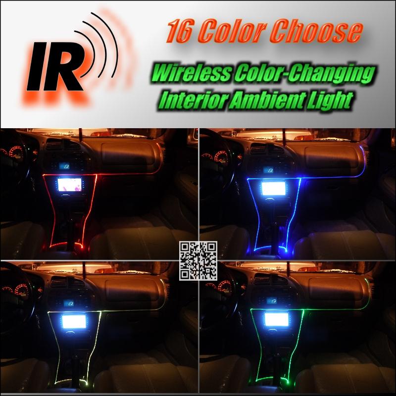 Wireless IR Control NOVOVISU Car Interior Ambient Instrument Panel Dashboard Light For Volvo V60 V50 XC60 XC90 XC70 V90 For ZAZ Change