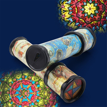 1Pcs 21cm Rotation Cute Classic Colorful Kaleidoscope Bulb Light Kids Fancy Early Childhood Toys For Baby Children Gift