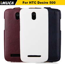 for htc Desire 500 case flip leather cover For HTC Desire 500 506E 5088 5060 dual sim luxury case mobile phone accessories capa