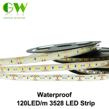 LED Strip 3528 120 LED/m DC12V Flexible LED Light White / Warm White / Red / Green / Blue LED Strip 3528 / 2835.(China)