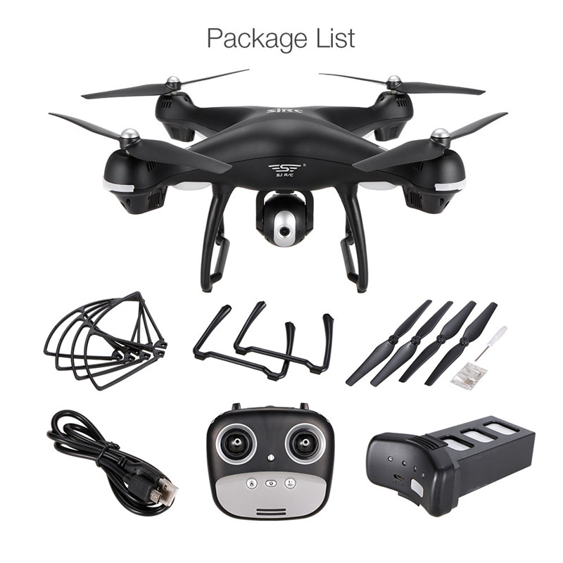 Teeggi S70W Follow Me Mode RC Drone with Adjustable FPV 1080P HD Camera GPS Professional Quadcopter Helicopter VS X8 Pro X8Pro 20