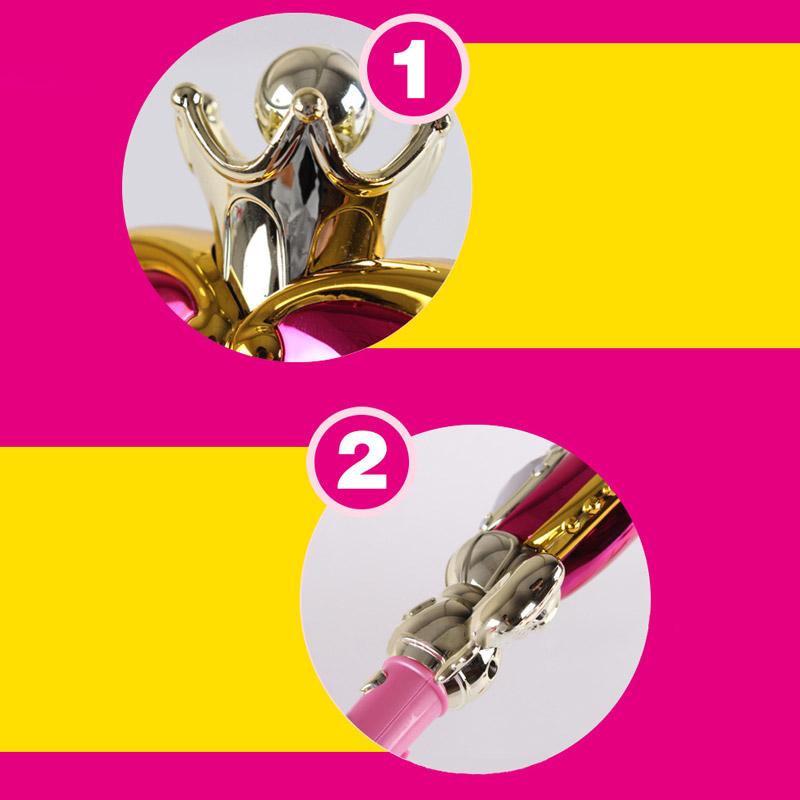 Anime Cosplay Sailor Moon 20th Tsukino Usagi Wand Henshin Rod Glow Stick Spiral Heart Moon Rod Musical Magic Wand Girl Toys (8)