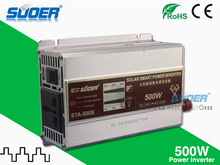 Suoer inverter 24v 220v 500w solar inverter price modified sine wave inverter(STA-500B)