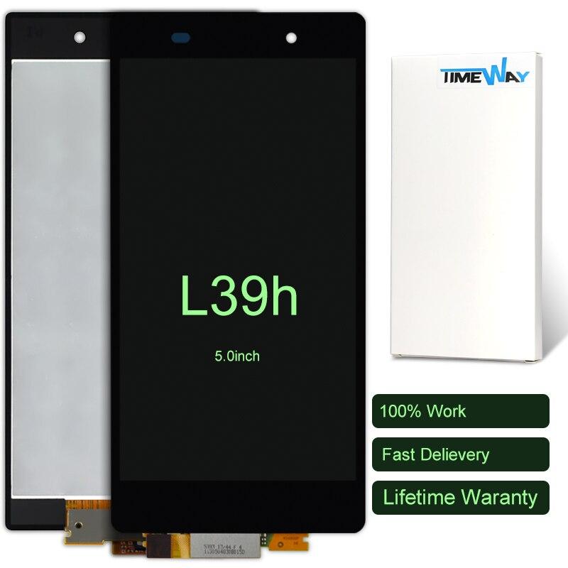 2pcs full LCD display +Digitizer Touch Screen Glass FOR Sony Xperia Z1 L39h L39 C6902 C6903 C6906 C6943 Assembly<br><br>Aliexpress