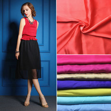Manufacturers selling spring crepe chiffon silk brocade dyeing high-end women's dress fabric