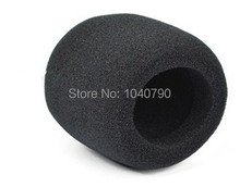 10 Pieces Black Handheld Stage Microphone Windscreen Foam Mic Cover Karaoke(China)