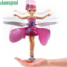 CHAMSGEND Flying Fairy Doll Hand Infrared Induction Control Dolls Child Fly Toy Gift For Kids Children Drop Shipping  WNov29