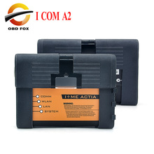for BMW ICOM A2 B C car Diagnostic Tool no Software ICOM for bmw obd2 tool icom a2 2017 software full cable DHL free shipping