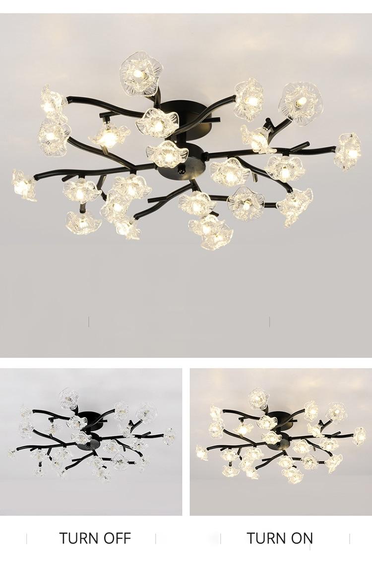 DX Vintage Flower Ceiling Light (11)