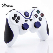 New 2.4GHz Wireless Bluetooth Game Controller For sony playstation 3 PS3 SIXAXIS Controle Joystick Gamepad(China)