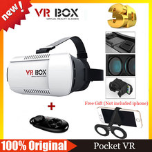 Google Cardboard VR BOX Virtual Reality Glasses Goggles VR Shinecon 2.0 3.0 +Bluetooth Wireless Mouse / Remote Control Gamepad