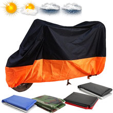 New Waterproof Motorcycle Cover Moto Motorbike Moped Scooter Cover Rain UV Dust Prevention Dustproof Covering Outdoor XL/XXL