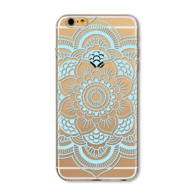 Flower Mandala Case For iPhone