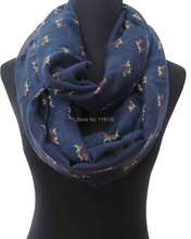 Beagle Puppy Print Women's Infinity Loop Scarf Gift for Dog Lovers(China)