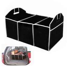 Car Thunk Storage Bag Stowing Tidying Auto Interior Accessories Non-Woven Organizer Toys Food Storage Container Bags Box