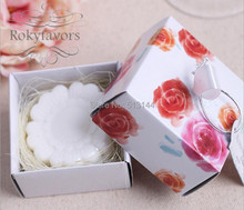 FREE SHIPPING 50PCS  Daisy Soap Favors Scented Soap Bridal Shower Floral Party Favors Ideas Wedding Party Decoration Supplies