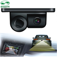 Wholesale Sound Alarm Car CCD Rear View Camera Video Parking Sensor System, Display Distance and Image in Car Monitor