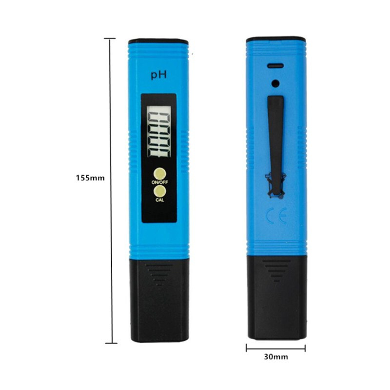 by dhl/fedex 100pcs/lot Pocket Pen Water PH Meter Digital Accuracy 0.01 Automatic Calibration Tester for Aquarium Pool 40%off 3