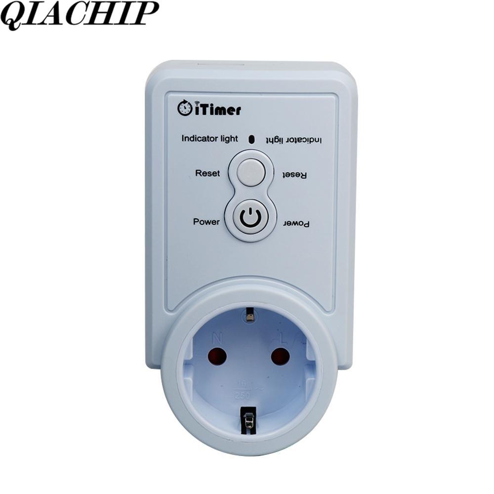 WiFi Smart Home Socket EU Plug Smart Plug Control App Timing Function Temperature AC 110V 220V Remote Control Switch Outlet E<br>