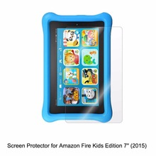 "Clear LCD PET Film Anti-Scratch / Anti-Bubble / Touch Responsive Screen Protector Cover for Amazon Fire Kids Edition 7"" (2015)"
