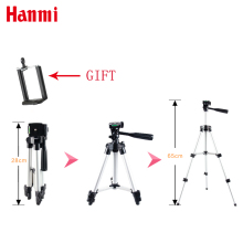 3 secion 65cm Aluminum Tripod Portable Camera Tripod for Canon Nikon Olympus Camera Cheap and fine