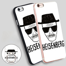 breaking bad heisenberg sketch Phone Ring Holder Soft TPU Silicon Case Cover for iPhone 4 4S 5C 5 SE 5S 6 6S 7 Plus