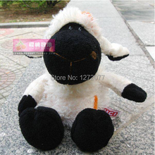 25cm NICI Black Face Sheep Stuffed Plush Toy, Baby Kids Doll Gift Free Shipping