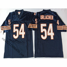 Mens 1985 Retro Brian Urlacher Stitched Name&Number Throwback Football Jersey Size M-3XL(China)