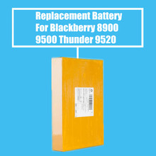 10Pcs/Pack 1400mah Replacement Battery For Blackberry 8900 8900 Curve 9500 Storm 9500 Thunder 9520 High Quality(China)