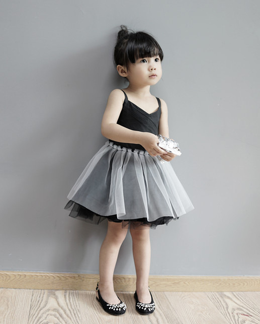2017 princess girl party slip dresses fashion girls net veil tutu dress summer ballet slip dress for girl dancing<br><br>Aliexpress