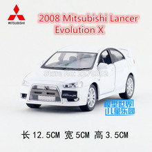 KINSMART Die Cast Metal Models/1:36 Scale/2008 Mitsubishi Lancer Evolution X toys/for children's gifts/for collections