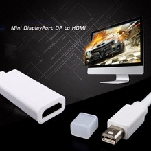 Mini Display Port DP to HDMI Adapter Short Cable Cord for MacBook Pro iMac Air P10(China)