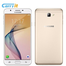"Original Samsung Galaxy On7 G6100 2017 Snapdragon 625 Three Card Slot 5.5"" 3300mAh 3GB 32GB 13MP 4G LTE Cell phone(China)"