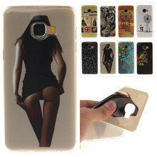 Fashion IMD Painting TPU Soft Silicone sFor Samsung Galaxy C5 C5000 Phone Case For Samsung Galaxy C 5 C 5000 Phone cover