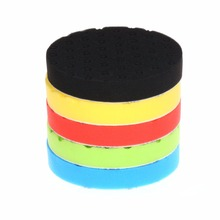 SPTA 7 inch (180mm ) Yellow/Red/Blue/Black/Green Buff Pad Polishing Pad kit For Car Polisher --Select Color -DIY Quality