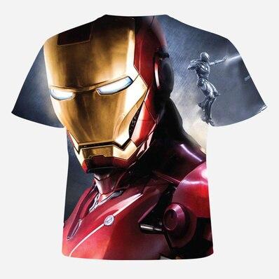 Lossky Men\`S Tops Print 3D T Shirts No Hooded Cotton 3D T Shirt Men Short Sleeve O-Neck T-Shirt Men Casual T Shirt For Men