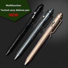 Multifunctional Self Defense Tactical Pen Stainless steel And Tungsten Steel Defense Outdoor Breaking Window EDC Tools(China)
