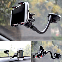 Universal 360 Rotating Windshield Car Phone Holder Stand Phone Sucker Mount Bracket iPhone 6 Plus Samsung S7 A5 Huawei ZTE
