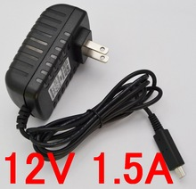 New AC Converter Adapter DC 12V 1.5A 1500mA 18W Power Supply US Plug Battery Charger For Acer Iconia A510 A700 A701 tablet pc