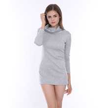Buy Bow Neck Package Buttocks Brief Sheath Mini Dress Bodycon 2017 Spring Dress Women Slim Long Sleeve Knee Sexy Dress Gray for $11.50 in AliExpress store