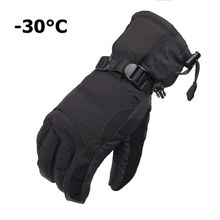 New Brand Men's Ski Gloves Snowboard Gloves Snowmobile Motorcycle Riding Winter Gloves Windproof Waterproof Snow Gloves