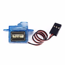 1x Micro 3.7g Mini Servo for Control Aeromodelling aircrafts flight direction