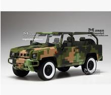 BJ2022 1:18  Car model SUV Jeep Original Beijing Warriors Military Model Beiqi Car Review Limited Collection gift boy Toy