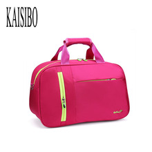 KAISIBO New Arrival Women And Men's Travel Bags Waterproof Travel Nylon Packages Men High Quality Portable Business Luggage(China)