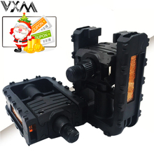 VXM Bicycle Pedal Folding Pedals Universal Plastic Non-slip Black Folded Pedals For Road/MTB Bike Cycling Pedal Bicycle Parts(China)