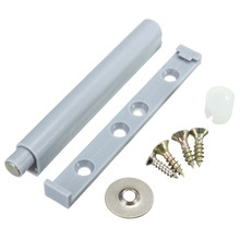 1Pcs Plastic Grey Door Cabinets Drawers Push To Open System Damper Buffer Set 83x10mm
