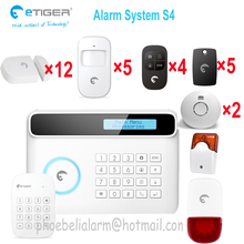New Wireless/wired Italian language landline GSM Sim card Home Security Burglar Alarm System Auto Dialer SMS Call
