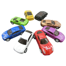 8Pcs/Lot 1:64 Pull Back Model Cars Vehicle Toy Mixed Color Cool Racing Car Toy Super Mini Alloy Model Car Vehicles for Boys Gift(China)