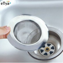 1Pcs Useful Standard Sink Sewer Filter Strainer Stainless Steel Mesh Tub Drain Kitchen Cleaning Gadgets Appliances(China)