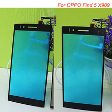 "Buy High 5.0"" Black Touch Panel Digitizer Touch Screen OPPO X909 Find 5 ANDROID Phone 5pcs/lot IN Stock for $40.99 in AliExpress store"
